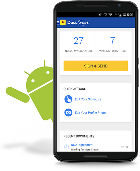 DocuSign Mobile para Android