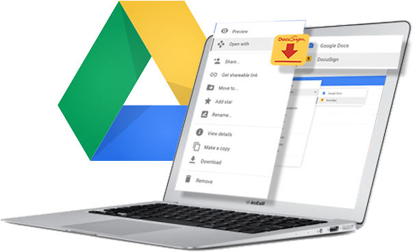 DocuSign para Google Drive