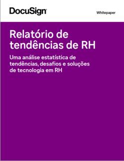 Relatório de tendências do RH