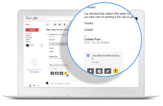 DocuSign para Gmail