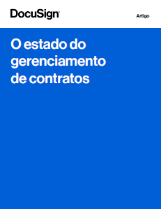 O estado do gerenciamento de contratos 2020