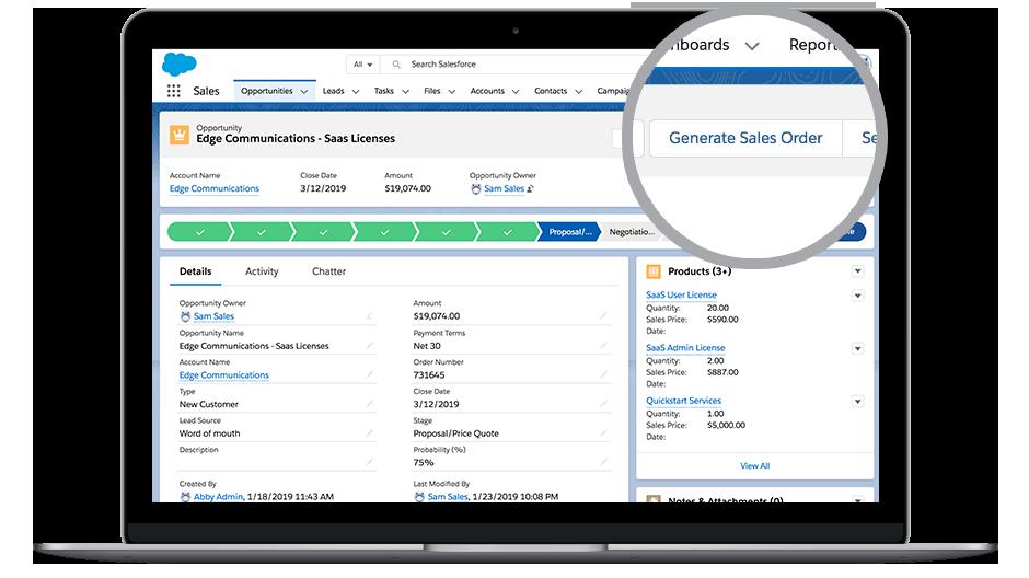 Foto do DocuSign Gen para Salesforce