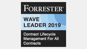 Baixe o relatório Forrester CLM Wave